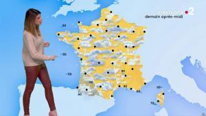 Chloé Nabédian à la Météo de Midi - 17/01/20 - 02
