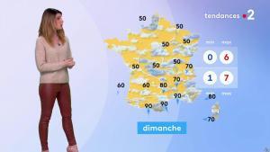 Chloé Nabédian à la Météo de Midi - 17/01/20 - 05