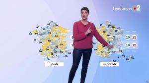 Chloé Nabédian à la Météo de Midi - 17/12/19 - 02