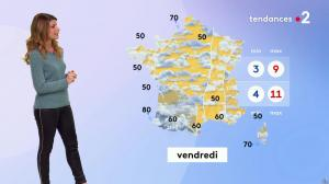 Chloé Nabédian à la Météo du Soir - 06/11/19 - 02