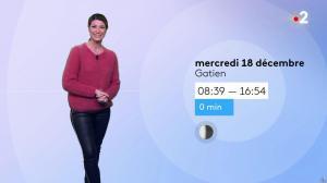 Chloé Nabédian à la Météo du Soir - 17/12/19 - 04