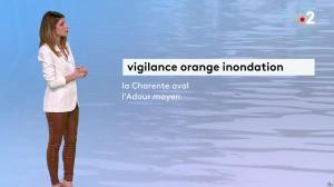 Chloé Nabédian à la Météo du Soir - 18/12/19 - 02