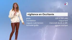 Chloé Nabédian à la Météo du Soir - 22/10/19 - 05