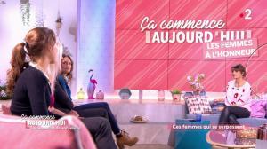 Faustine Bollaert dans Ça Commence Aujourd'hui, Des Nouvelles... - 09/10/19 - 02