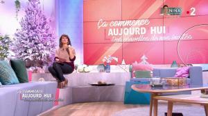Faustine Bollaert dans Ça Commence Aujourd'hui, Des Nouvelles... - 11/12/19 - 05