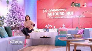 Faustine Bollaert dans Ça Commence Aujourd'hui, Des Nouvelles... - 11/12/19 - 06