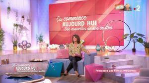 Faustine Bollaert dans Ça Commence Aujourd'hui, Des Nouvelles... - 14/01/20 - 03