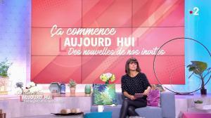 Faustine Bollaert dans Ça Commence Aujourd'hui, Des Nouvelles... - 18/10/19 - 01