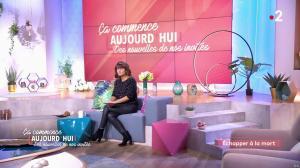 Faustine Bollaert dans Ça Commence Aujourd'hui, Des Nouvelles... - 18/10/19 - 04