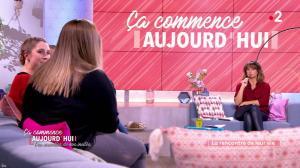 Faustine Bollaert dans Ça Commence Aujourd'hui, Des Nouvelles... - 18/11/19 - 03