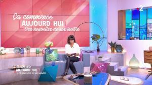 Faustine Bollaert dans Ça Commence Aujourd'hui des Nouvelles - 24/10/19 - 02