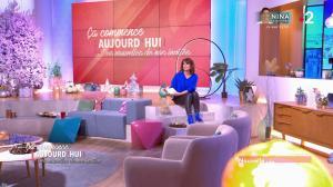 Faustine Bollaert dans Ça Commence Aujourd'hui, Des Nouvelles... - 27/11/19 - 01