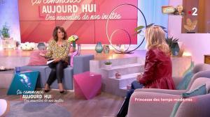 Faustine Bollaert et Camilla de Bourbon dans Ça Commence Aujourd'hui, Des Nouvelles... - 14/01/20 - 06