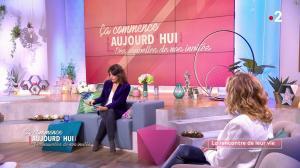 Faustine Bollaert et Christèle Albaret dans Ça Commence Aujourd'hui, Des Nouvelles... - 18/11/19 - 01