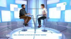 Mélanie Taravant dans C à Dire - 21/10/19 - 01