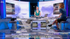 Caroline Roux dans la Matinale - 01/03/11 - 2