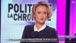 Caroline Roux dans la Matinale - 28/01/11 - 1