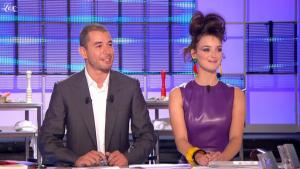 Charlotte Le Bon dans le Grand Journal De Canal Plus - 05/04/11 - 4