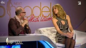 Heidi Klum dans Germany s Next Top Model - 03/03/11 - 06