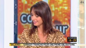 Julia Vignali dans la Matinale - 21/04/11 - 3