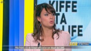 Julia Vignali dans la Matinale - 24/02/11 - 2