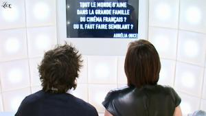 Kristin Scott Thomas dans le Grand Journal De Canal Plus - 26/01/11 - 2