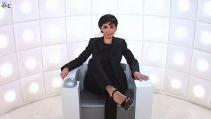 Rachida Dati dans le Grand Journal De Canal Plus - 20/01/11 - 2