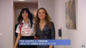 Sandrine Quétier dans le Grand Journal De Canal Plus - 12/01/11 - 1