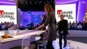 Sandrine Quétier dans le Grand Journal De Canal Plus - 12/01/11 - 3