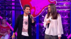 Elisa Tovati dans n'Oubliez pas les Paroles - 12/10/13 - 07
