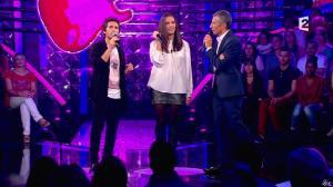 Elisa Tovati dans n'Oubliez pas les Paroles - 12/10/13 - 09
