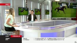 France Pierron dans Menu Sport - 27/09/13 - 08