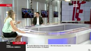 France Pierron dans Menu Sport - 27/09/13 - 09
