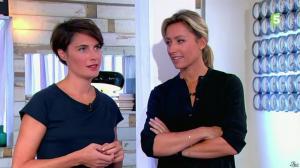 Alessandra Sublet dans C à Vous - 01/10/14 - 02