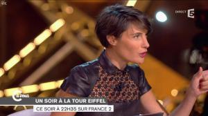 Alessandra Sublet dans C à Vous - 01/10/14 - 04
