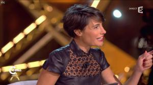 Alessandra Sublet dans C à Vous - 01/10/14 - 06