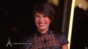 Alessandra Sublet dans un Soir à la Tour Eiffel - 01/10/14 - 08