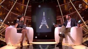 Alessandra Sublet dans un Soir à la Tour Eiffel - 01/10/14 - 13