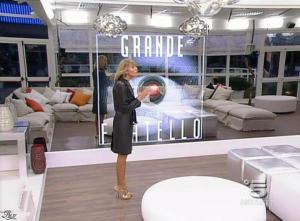 Alessia Marcuzzi dans Grande Fratello - 12/01/09 - 02