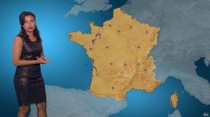 Anaïs Baydemir à la Météo de 20h - 01/11/14 - 09