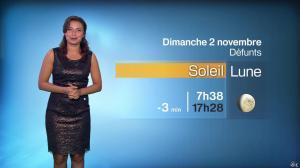 Anaïs Baydemir à la Météo de 20h - 01/11/14 - 10