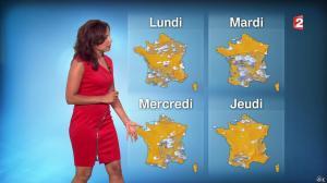 Anaïs Baydemir à la Météo de 20h - 06/09/14 - 08