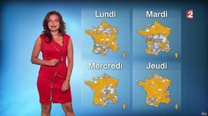 Anaïs Baydemir à la Météo de 20h - 06/09/14 - 09