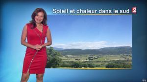 Anaïs Baydemir à la Météo de 20h - 06/09/14 - 11