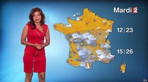 Anaïs Baydemir à la Météo de 20h - 06/09/14 - 18