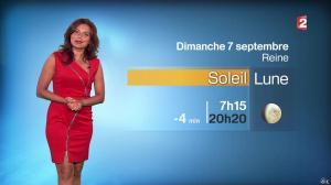 Anaïs Baydemir à la Météo de 20h - 06/09/14 - 21