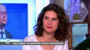 Apolline De Malherbe dans C à Vous - 06/11/14 - 02