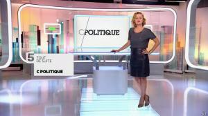 Caroline Roux dans C Politique - 05/10/14 - 003