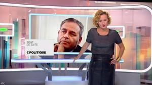 Caroline Roux dans C Politique - 05/10/14 - 007