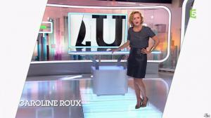 Caroline Roux dans C Politique - 05/10/14 - 008